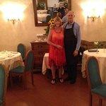 Umberto & myself at Taverna Bronzino