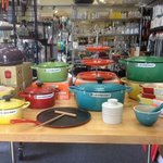 We Sell Le Creuset at our store
