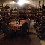 Taverna Bronzino wine cellar. Awesome!