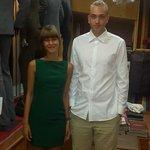 dress and slim fit shirt