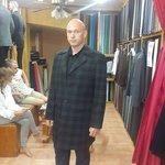 pure wool overcoat