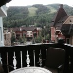 Vail Mountain from our balcony