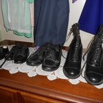Amish women's shoe collection