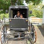 How roomy is an Amish buggy?
