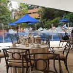 hermoso lugar para desayunar y/o almrzar, tranquilo y cálido
