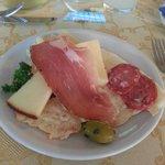 l'antipasto della cena sarda