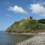 Criccieth Castle from the beach