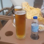 2 euro 40 cents for large beer:-)