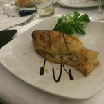 Lubina - Sea bass puff pastry