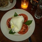 Melt-in-your-mouth burrata and fresh tomatoes