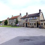 The Crown Hutton Le Hole Dining outside