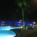 The Poolside after dark