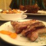 Ribs & Roasted Pork Hock