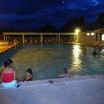 Une piscine à 30°...rafraichissant quand il fait plus de 40°