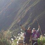 Inca Trail - dia 3 con Sarah!