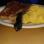 T-Bone Steak & Eggs