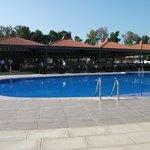 Main Pool and Main Restaurant