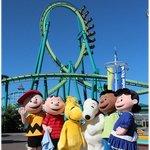 The Peanuts at Cedar Point!!!!