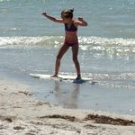 clearwater beach skim boarder