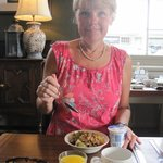 Another fabulous breakfast at the Fountain Inn