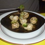 Snails in Herb Butter
