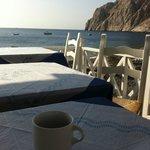 Petit déjeuner en bord de mer ... que du bonheur !