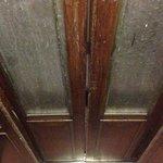 Cool, vintage elevator doors.