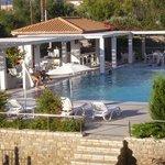 Η πισίνα του ξενοδοχείου