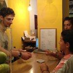 Card tricks with Cosimo