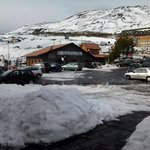 Etna con la neve.