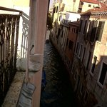 View from Communal Terrace along canal towards Grande Canal