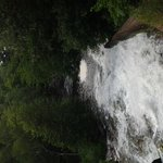 The sound of the Falls, heard at the Campground