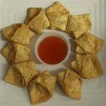 Sayakomarn's Fried Crab Cheese Wontons