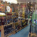 Great rod and reel selection
