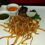 Strip loin steak with frites