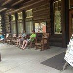 Outside The Douglas Lodge