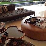 Villa number six, living room