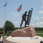 Memorial to all native American servicemen and women