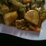 Home made chicken curry