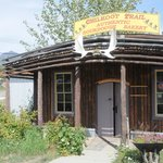 Front of Sourdough Bakery, Carcross Yk