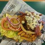 Bacon Cheesburger at Triggers Seafood