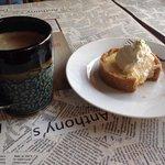 Key lime pie&coffee