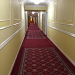 "Cool hallway reminded us of the movie ""The Shining"" REDRUM"