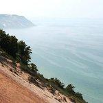 Dunes Meet Lake Michigan