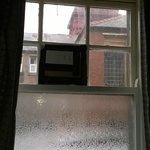 CARDBOARD AND MASKING TAPE WINDOW