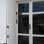 Front door bell.