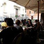 Almorzando en La Scala