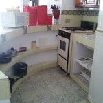 cocineta equipada