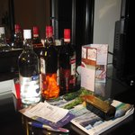 bouteilles offertes