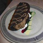 Chocolate taco